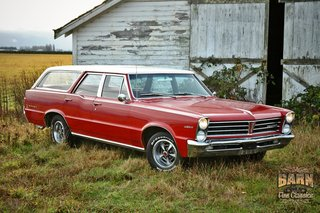 Barn Fine Classics, Classic Car Dealer, 1965 Pontiac Tempest Wagon for sale