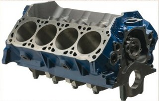 Ford Racing,351 Engine Block