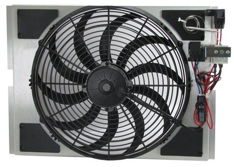 Aluminum Fan Shroud, Old Air Products
