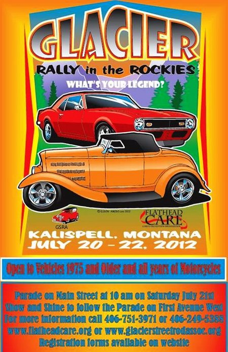 Glacier Rally , Muscle Cars of America