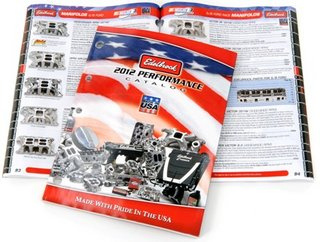 Edelbrock Catalog, Headers, Carburators,Hot Rods,Muscle Cars