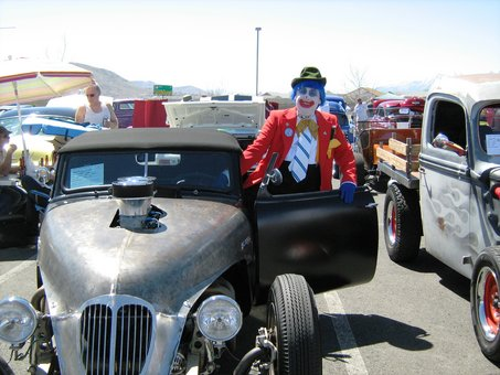 Carson City Car SHow, Rutherford B Clown