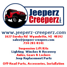 Jeeperz Creeperz, Off Road Suspension,Jeep Specialties