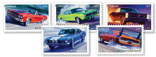 Muscle Car Stamps, Tom Fritz