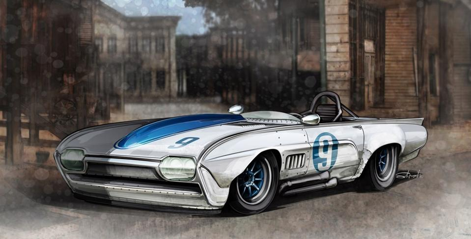 Twilght Zone Thunderbird Project by Hot Rod Alley