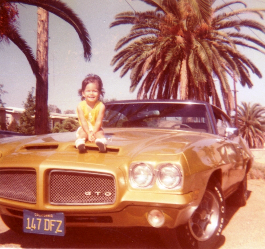Tiffany and her GTO
