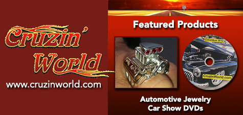 Cruzin World Automotive Jewelry and Car Show DVDs