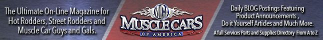 Muscle Cars of America Banner Ad