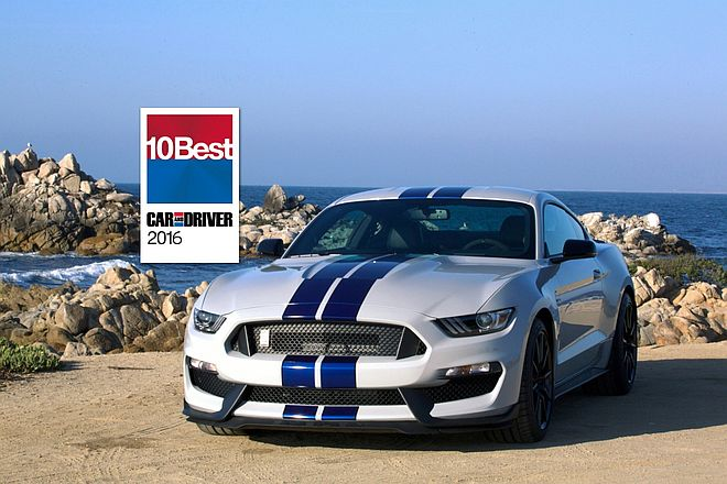 10 Best List Car And Driver Ford Shelby Gt350