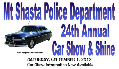Mt. Shasta Car Show 2012