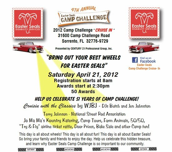 Easter Seals Camp Challenge Car Show