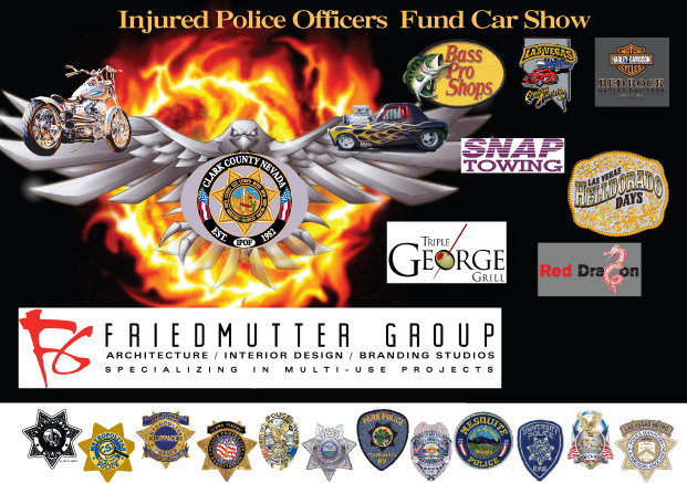 Injured Police Officer Fund Car Show Bass Pro Shops - Bass pro car show