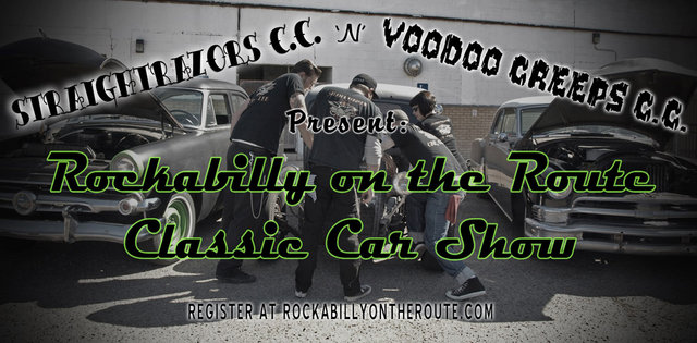 Rockabilly On The Route Festival Car Show Ad