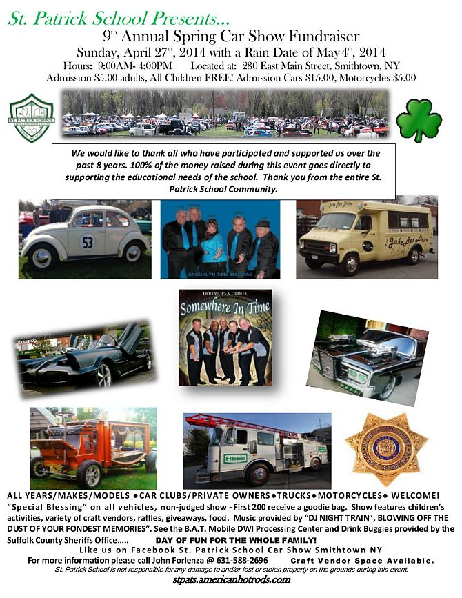 St. Patrick School Car Show 2014