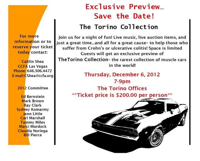 Torino Collection Rare Muscle Cars
