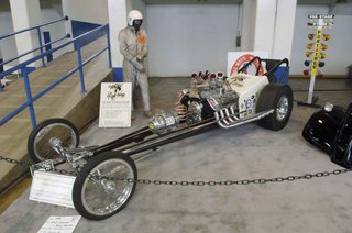 White Lightning A Dragster