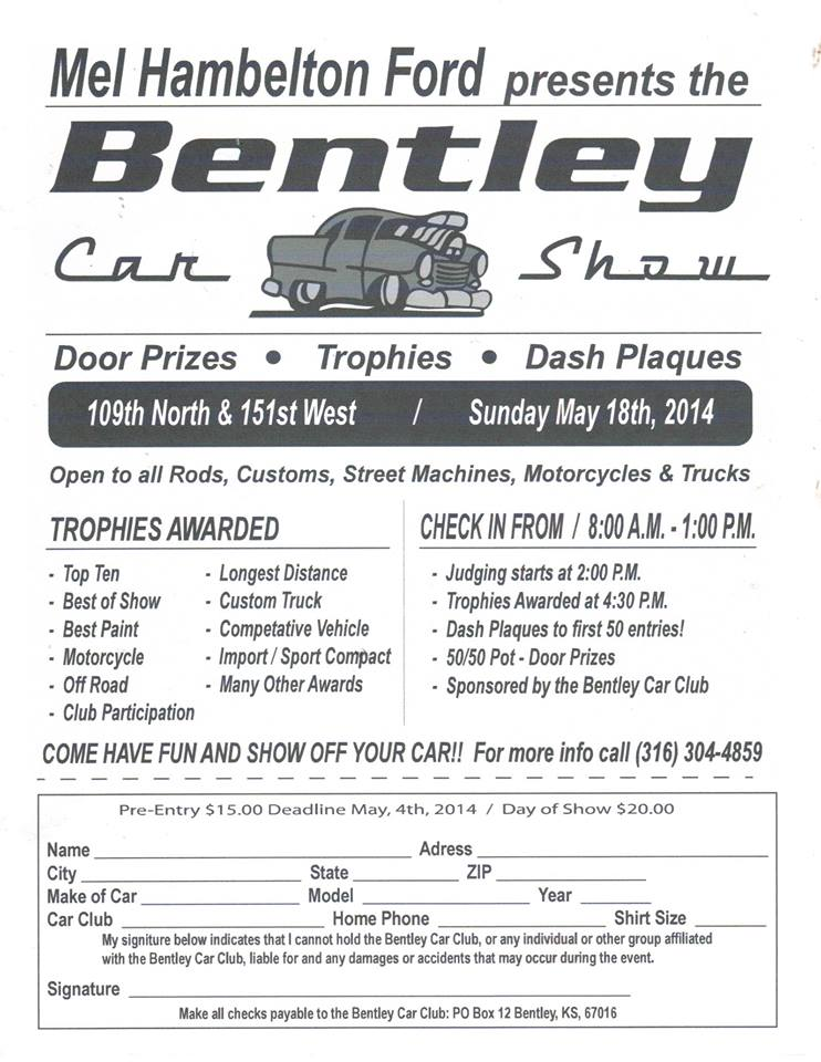 Bentley Car Club Show 2014