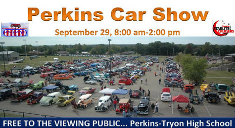 Perkins Oklahoma Car Show