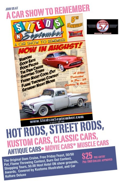 5th Annual Sleds in September Car Show